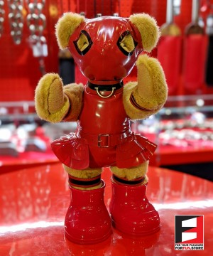 RUBBER GIRL TEDDY BEAR TEDDY-F01SET
