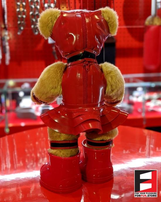RUBBER GIRL TEDDY BEAR TEDDY-F01SET