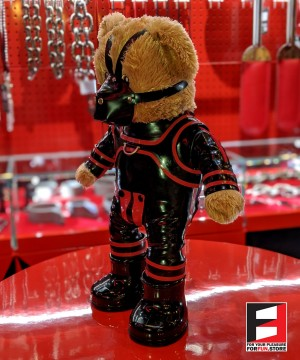 RUBBER BOY TEDDY BEAR TEDDY-M01SET