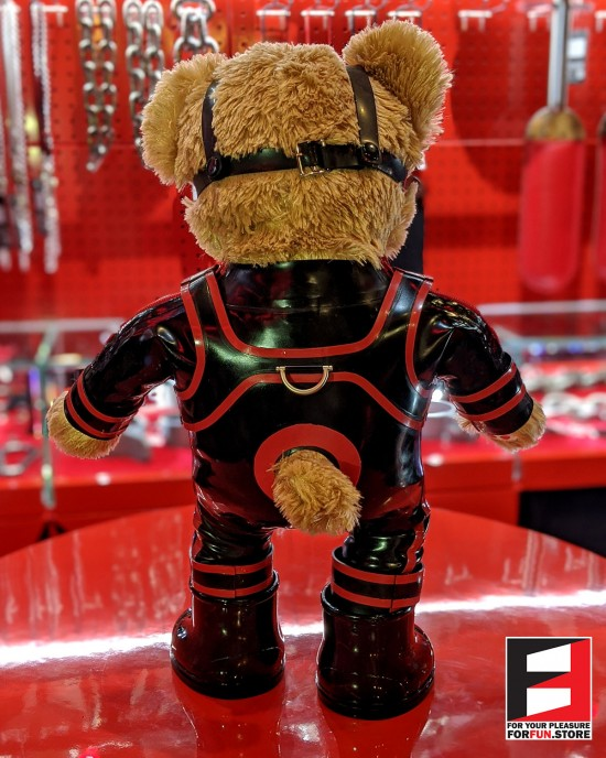 RUBBER BOY TEDDY BEAR TEDDY-M01SET