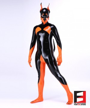 LATEX DOBERMAN PETSUIT BS-PSD02