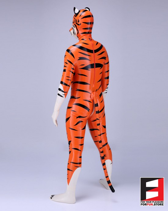 LATEX TIGER PETSUIT BS-PST02
