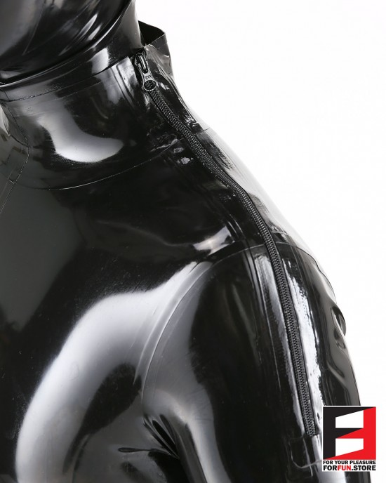 LATEX PLAYSUIT WITH CODPIECE MEN BS01C-M