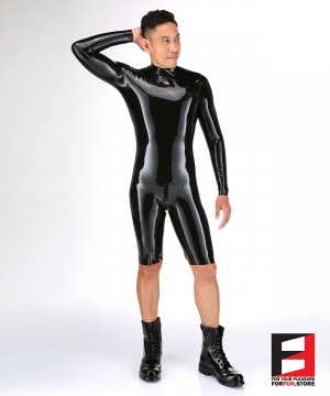 LATEX BODYSUIT MEN BS04-M