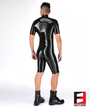 LATEX BODYSUIT MEN BS05-M