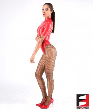 LATEX BODYSUIT WOMEN BS09-W