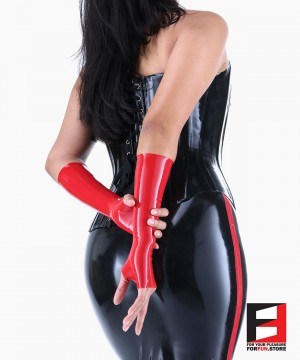LATEX FINGERLESS MID-LENGTH GLOVES GLBF