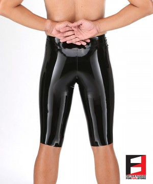 LATEX CAPRI LEGGINGS MEN LGB