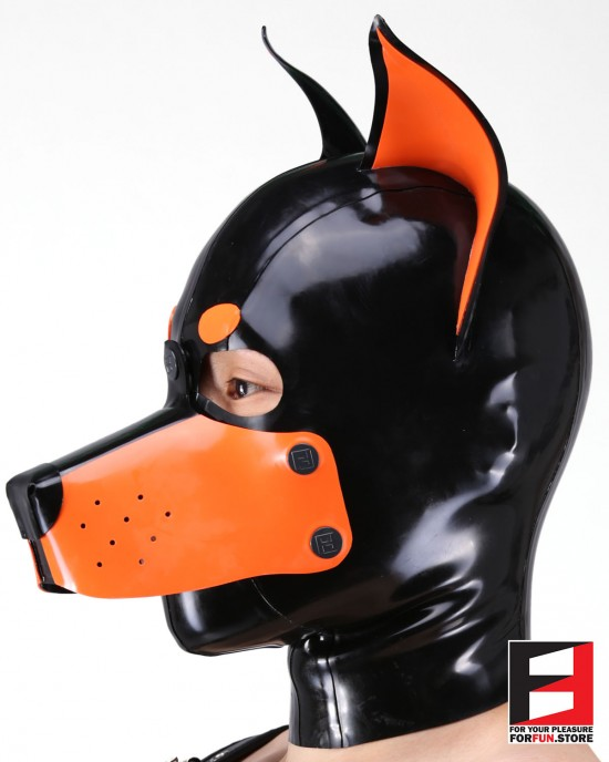 LATEX DOBERMAN MASK MA-D02