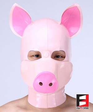 LATEX PIG MASK MA-P01