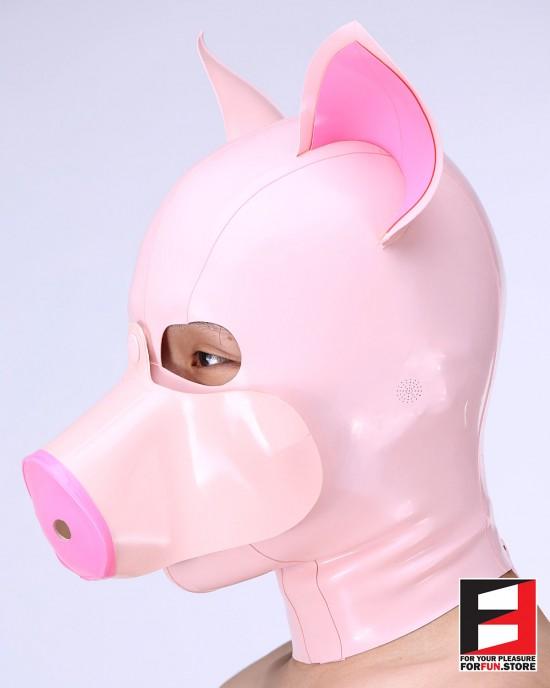 LATEX PIG MASK MA-P01