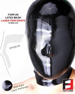 LATEX MASK LASER PERFORATE MAA-L02