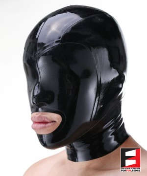 LATEX MASK LASER PERFORATE MAC-L02