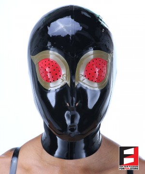 LATEX MASK FISH EYES MAK