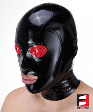 LATEX MASK FISH EYES & MOUTH OPEN MAL