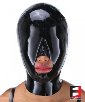 LATEX MASK BIG MOUTH MAQ