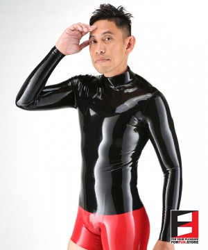 LATEX LONG SLEEVES SHIRT MEN SHA-M
