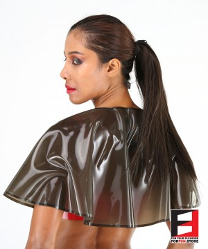 LATEX SHOULDER COAT WOMEN SHCH-W