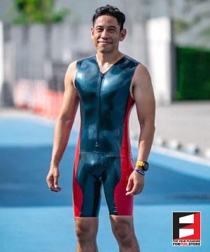 LATEX CYCLING SUIT SP002