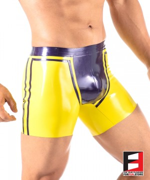 LATEX BOXERS MEN UWB001