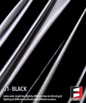 01 BLACK LATEX SHEET