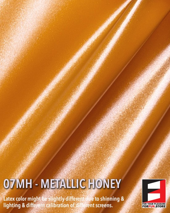 07MH METALLIC HONEY LATEX SHEET