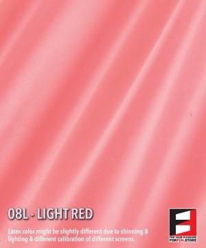 08L LIGHT RED LATEX SHEET