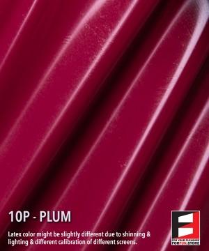 10P PLUM LATEX SHEET