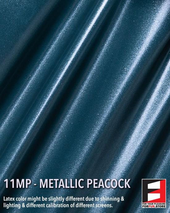 11MP METALLIC PEACOCK LATEX SHEET