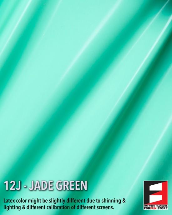 12J JADE GREEN LATEX SHEET