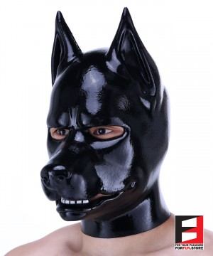 Dog Doberman Black PETMASK PHD005-B