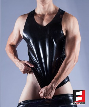 RUBBER VEST MEN RR040