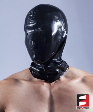RUBBER MASK WITH EYES&NASAL HOLES RR050