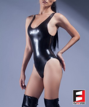 RUBBER BODYSUIT WOMEN RR070