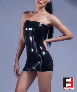 RUBBER DRESS RR080