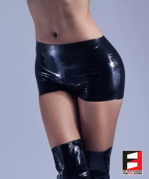 RUBBER HOT PANTS WOMEN RR120