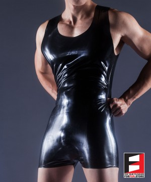 RUBBER BODYSUIT MEN RR170