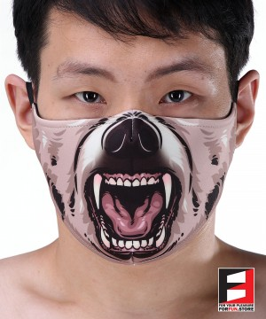 BEAR FACE MASK B001
