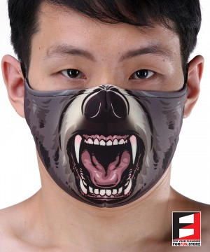 BEAR FACE MASK B002