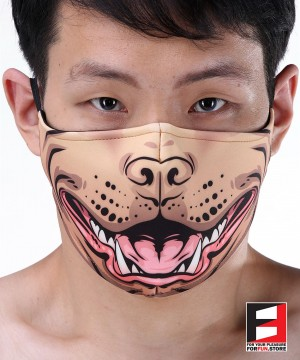 PITBULL FACE MASKS D003