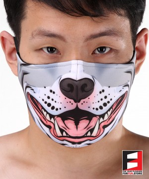 PITBULL FACE MASKS D004