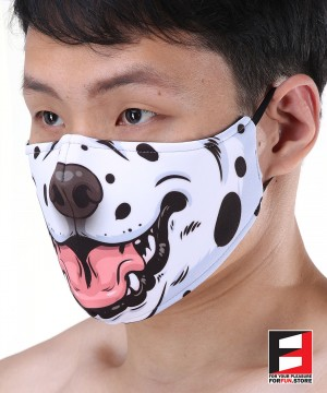 DALMATIAN FACE MASKS D005