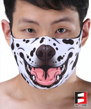 DALMATIAN FACE MASKS D006