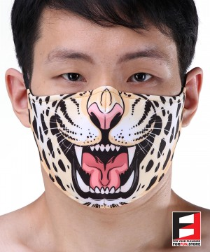 LEOPARD FACE MASKS LE001