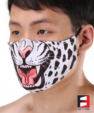 LEOPARD FACE MASKS LE002