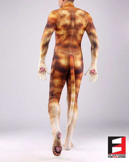 Cat Yellow Men PETSUIT C001M