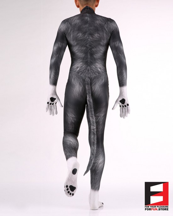 Dog Puppy Black Men PETSUIT D006M-BLACK