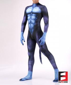 Dog Puppy Blue Men PETSUIT D006M-BLUE