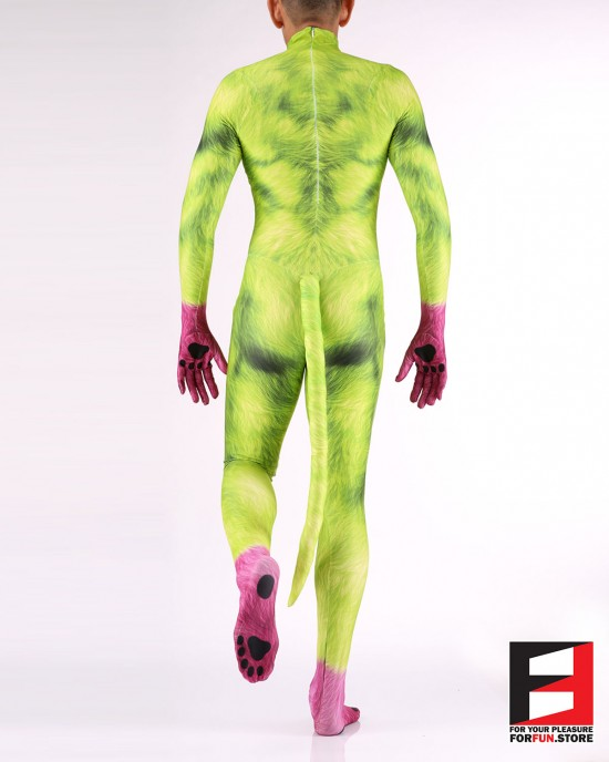 Dog Puppy Green Men PETSUIT D006M-GREEN