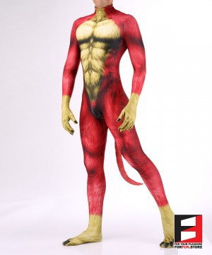 Dog Puppy Red Men PETSUIT D006M-RED
